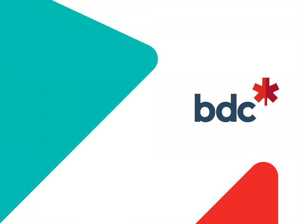 brand new new logo and identity for bdc by cossette