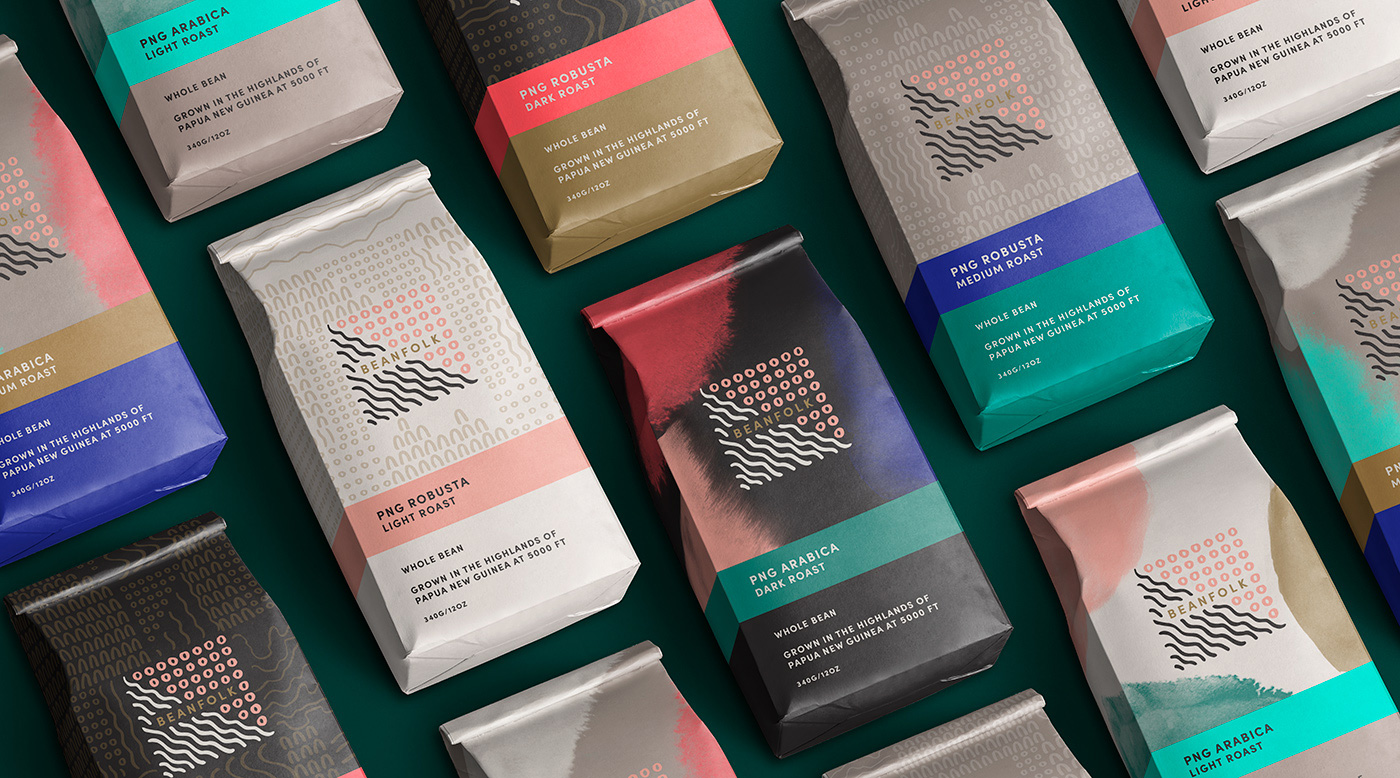 New Logo, Identity, and Packaging for Beanfolk by Outfit