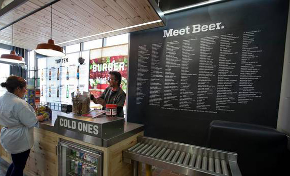 Beer Store Logo and Retail