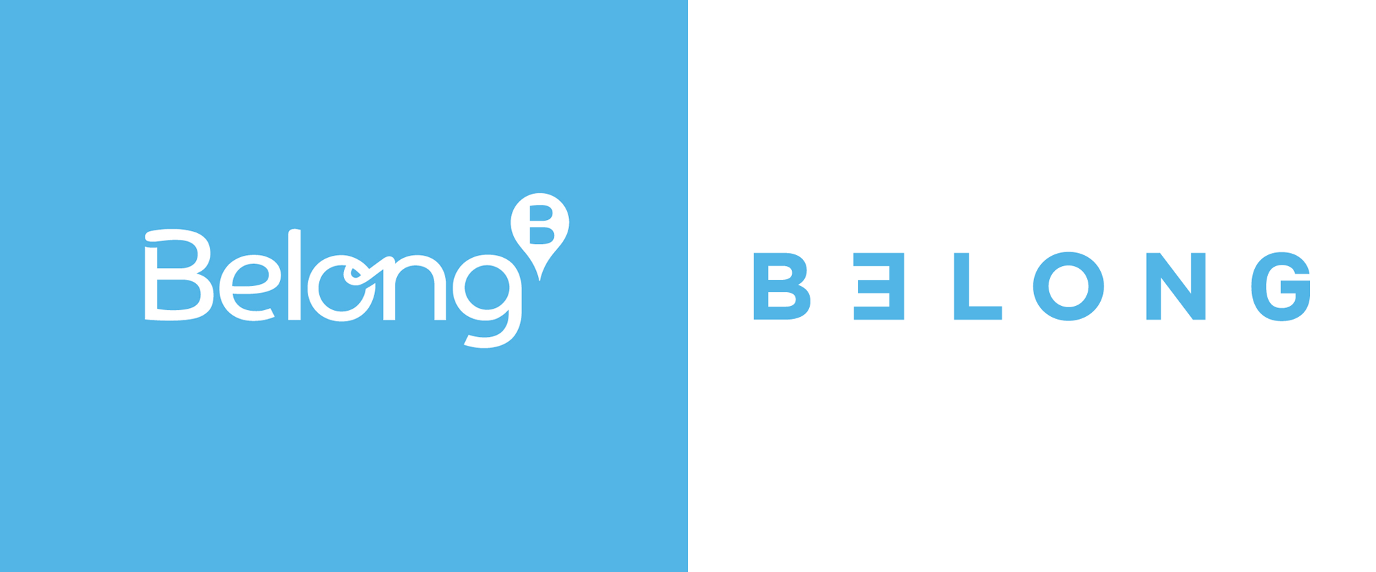 New Logo for Belong by Clemenger BBDO Melbourne