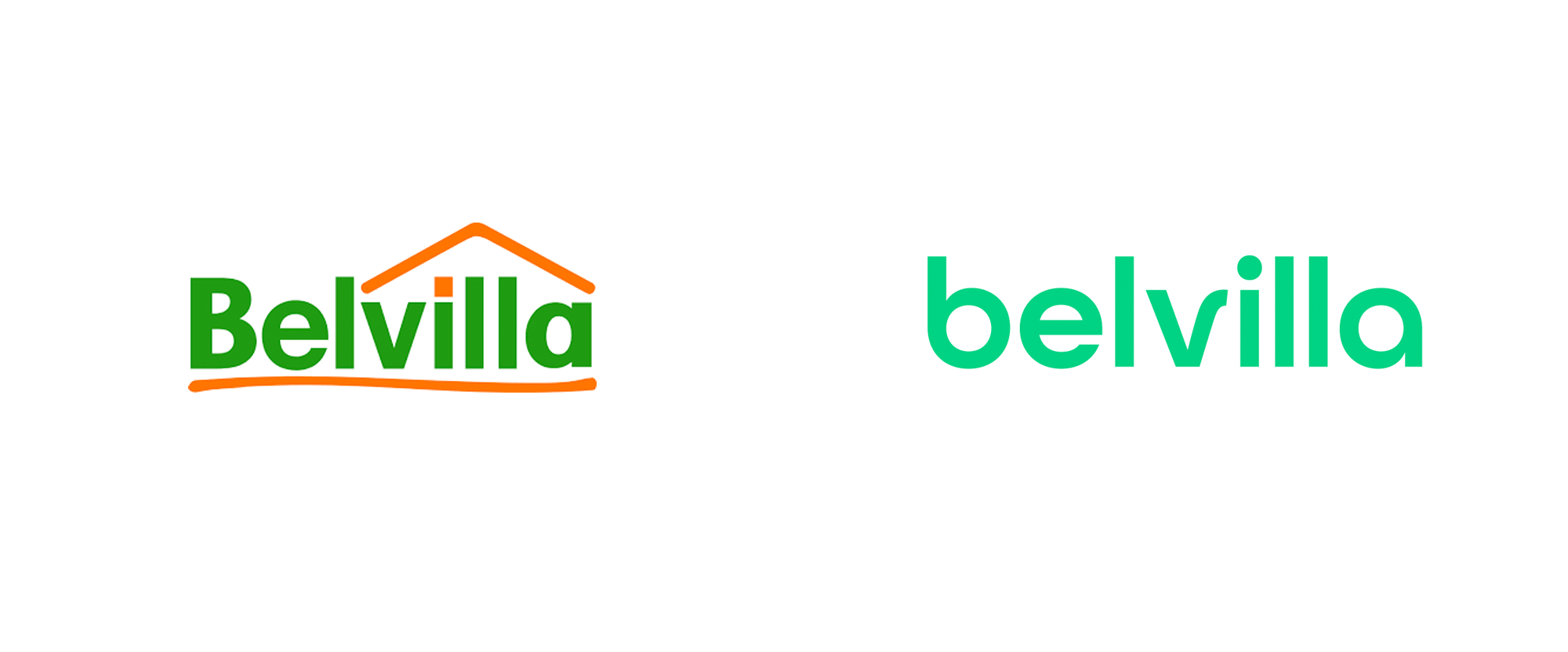 New Logo for Belvilla