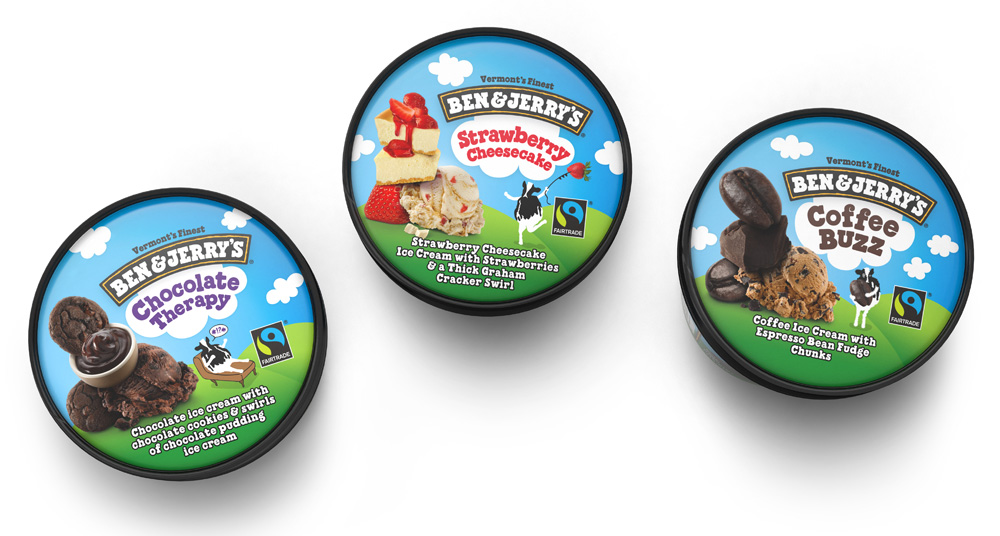 Brand New New Packaging For Ben Amp Jerry S By Pearlfisher