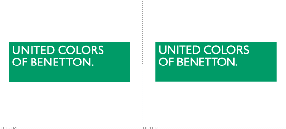 United Colors. Now with more Benetton.