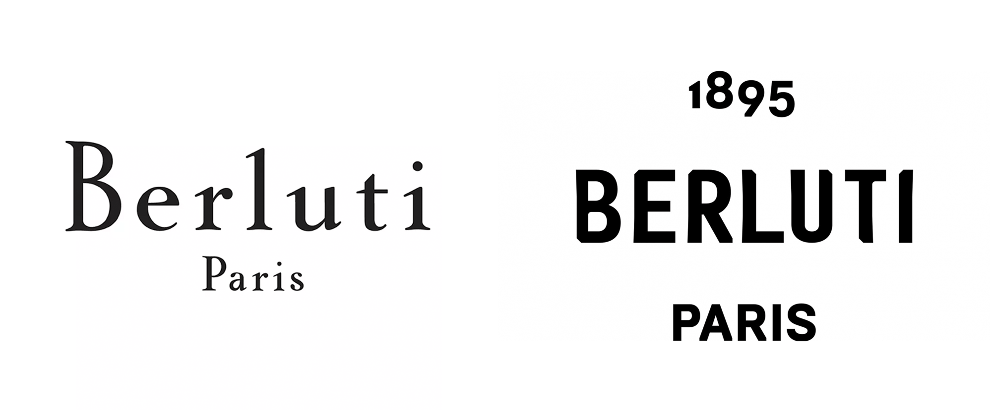 New Logo for Berluti by M/M Paris