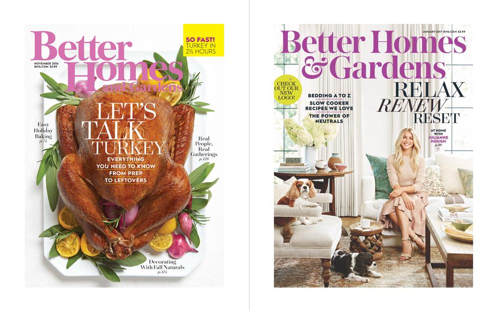 New Logo for Better Homes &Gardens by Lippincott