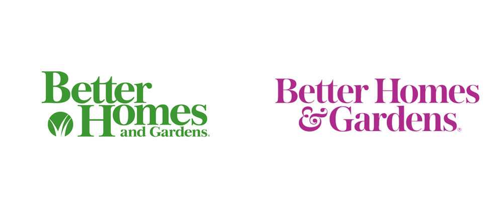 New Logo for Better Homes &Gardens by Lippincott