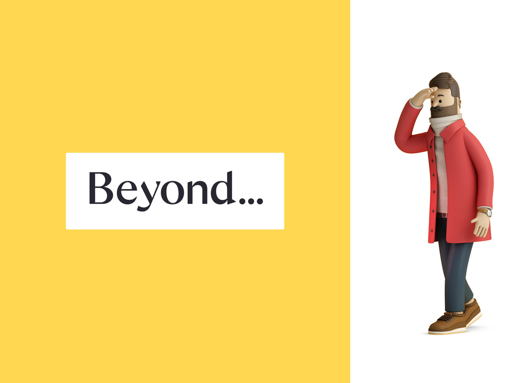 New Logo and Identity for Beyond by SomeOne