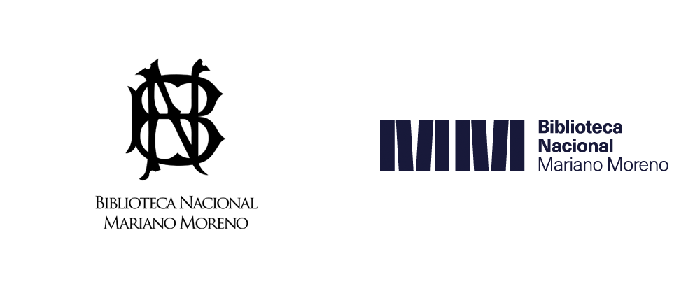 New Logo and Identity for Biblioteca Nacional Mariano Moreno by B. Estudio