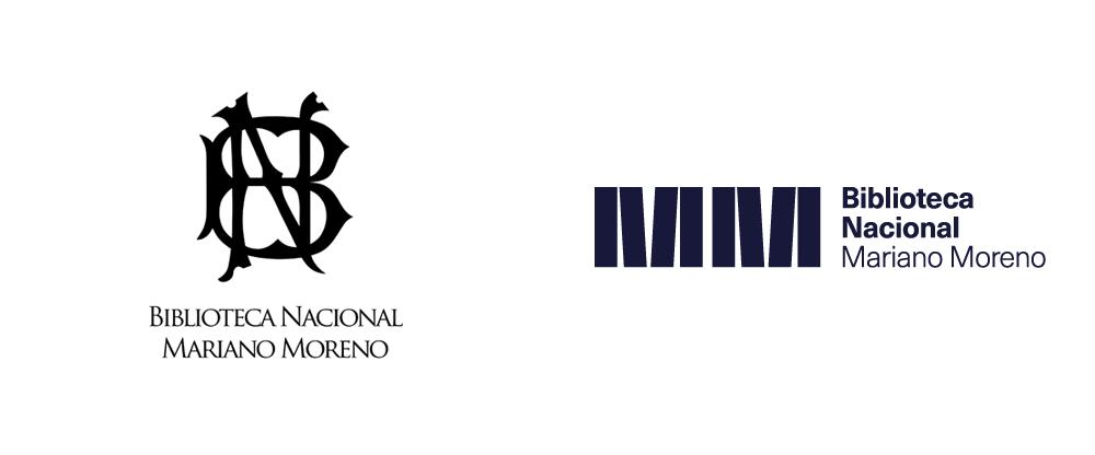 New Logo and Identity for Biblioteca Nacional Mariano Moreno by B. Estudio