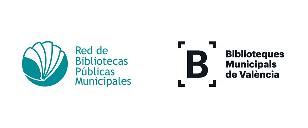 New Logo and Identity for Biblioteques Municipals de Valencia by Nueve