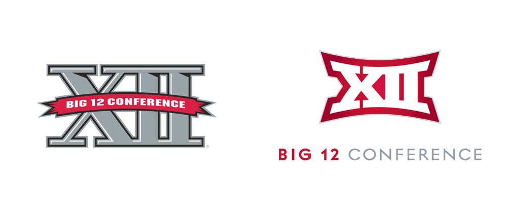 New Logo for Big 12 Conference by GSD&M
