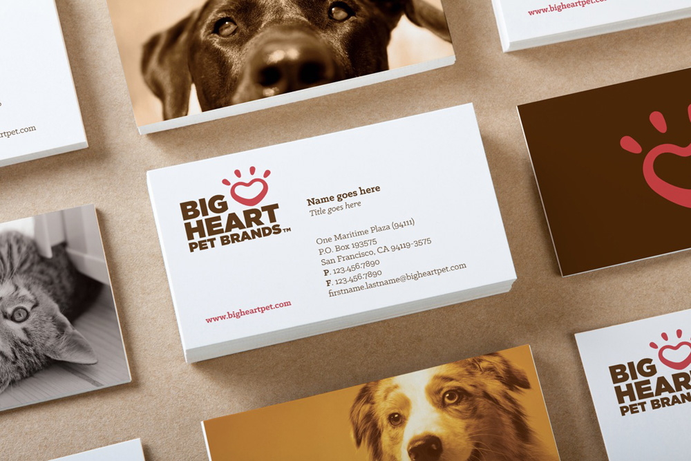 Brand New: New Name, Logo, and Identity for Big Heart Pet Brands by CBX