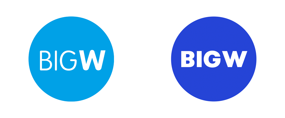 New Logo for BIG W