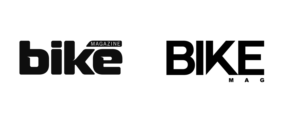 New Logo for Bike Magazine