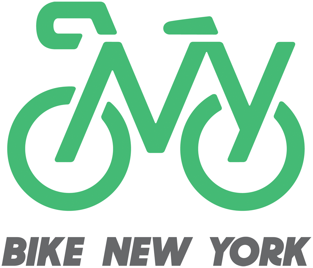 New Logo and Identity for Bike New York by Pentagram