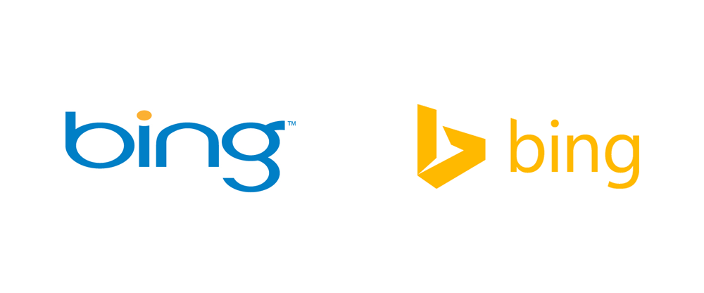 New Logo for Bing by Microsoft