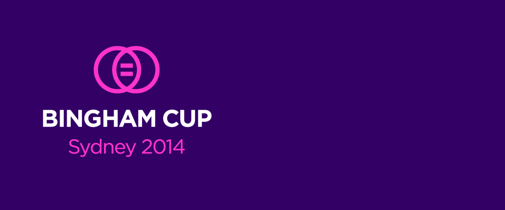New Logo for Bingham Cup 2014 by Coast Design