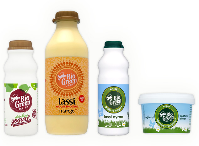 Bio Green Dairy Packaging