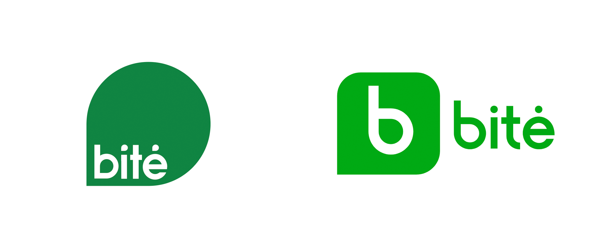New Logo for Bitė by Interbrand