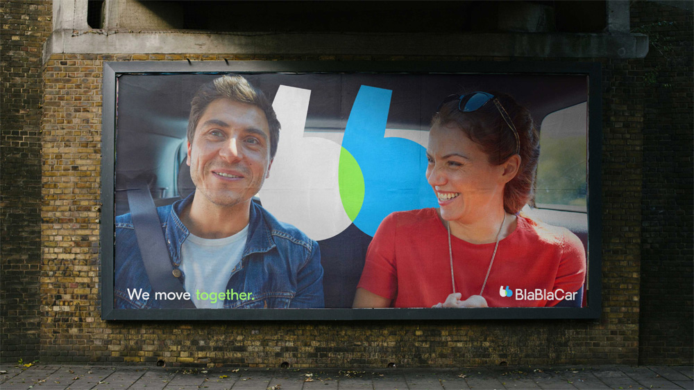 New Logo and Identity for BlaBlaCar by Koto