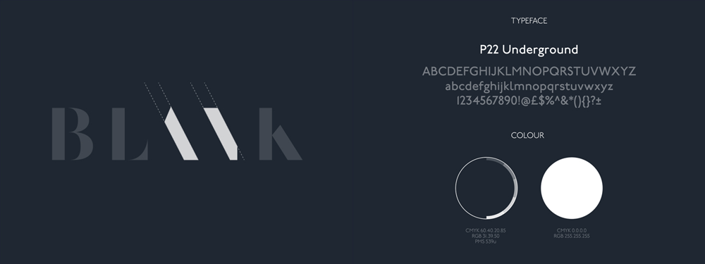 New Logo and Identity for Blank by Moving Brands