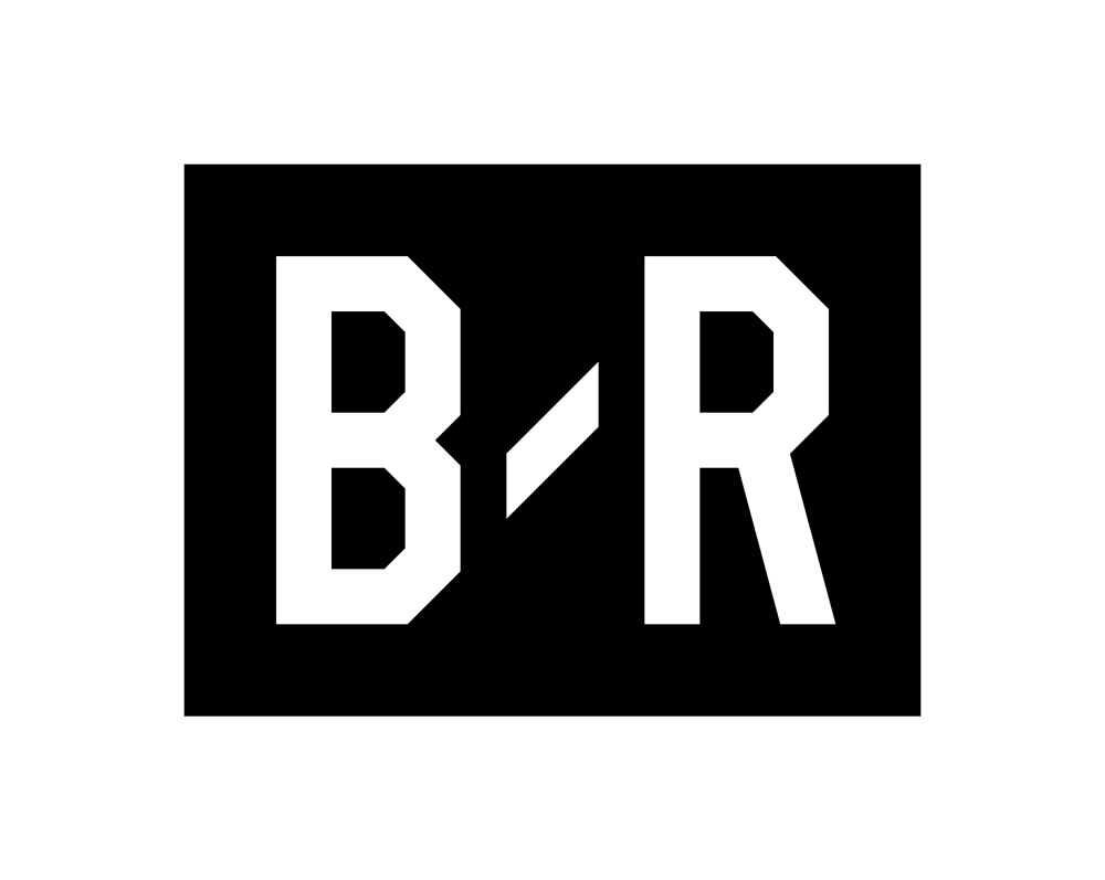 brand new  new logo for bleacher report done in