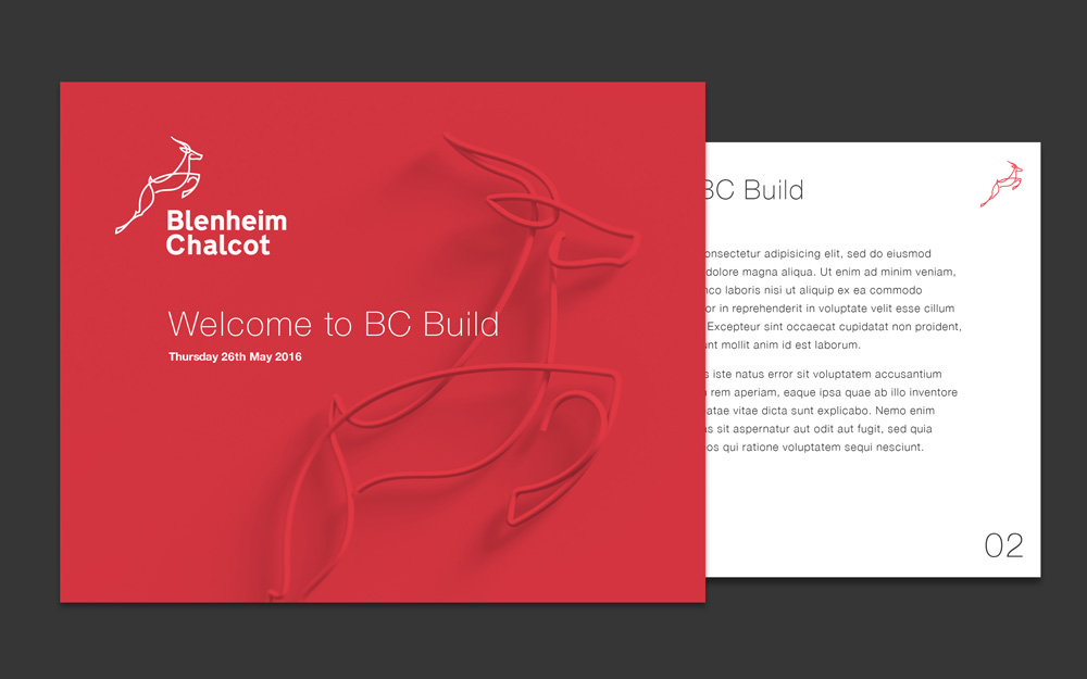 New Logo for Blenheim Chalcot by Accelerate Digital