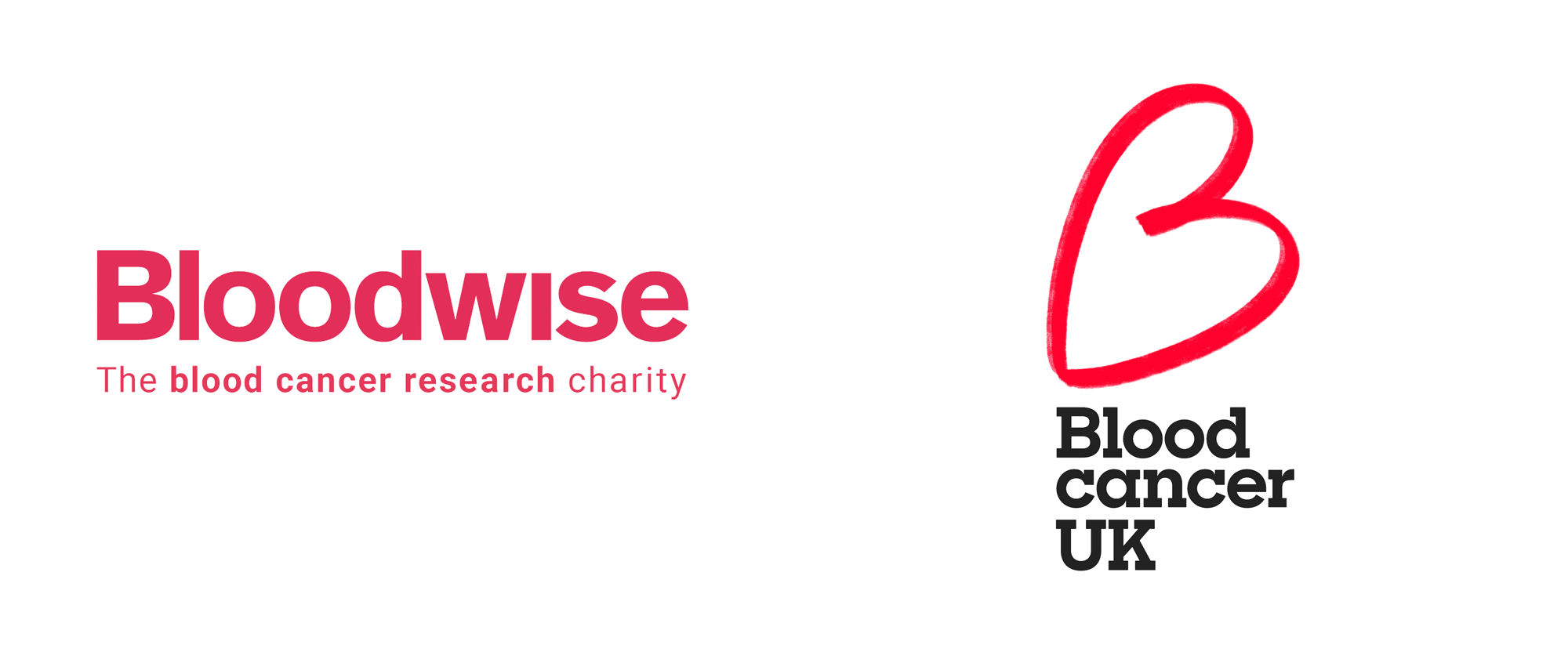 New Logo and Identity for Blood Cancer UK by Pentagram