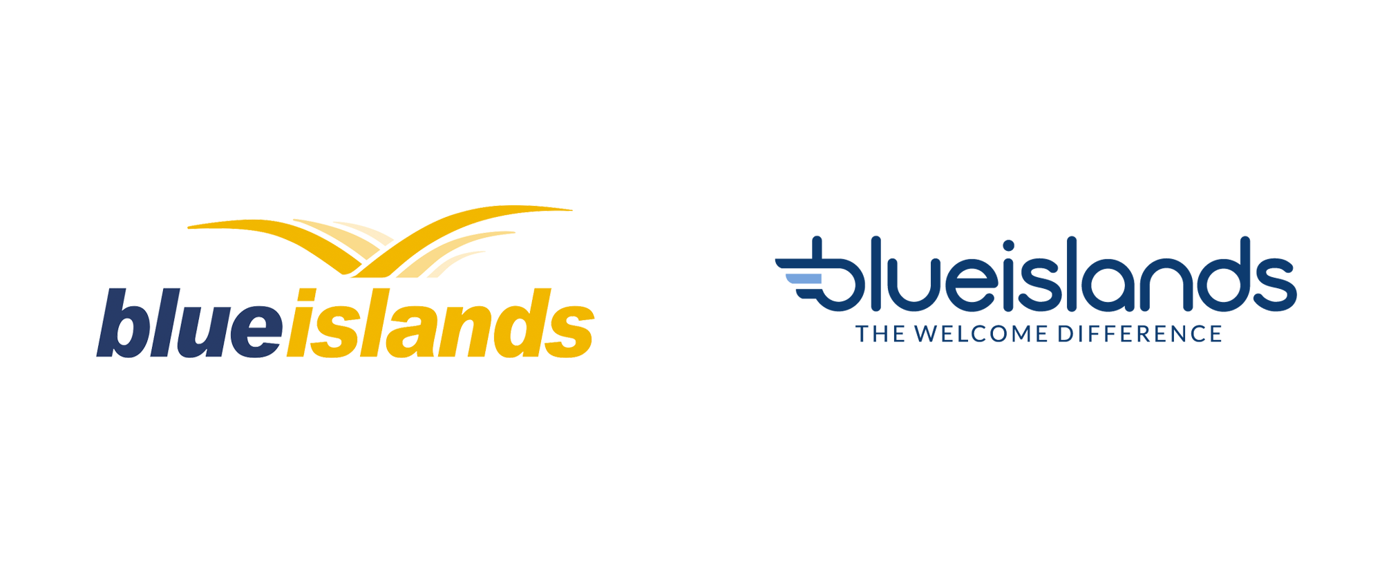 New Logo for Blue Islands