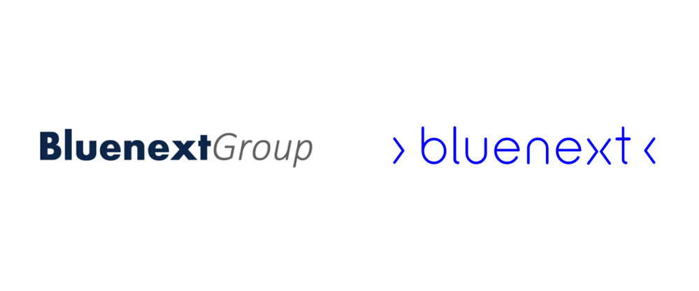 New Logo and Identity for Bluenext by DixonBaxi