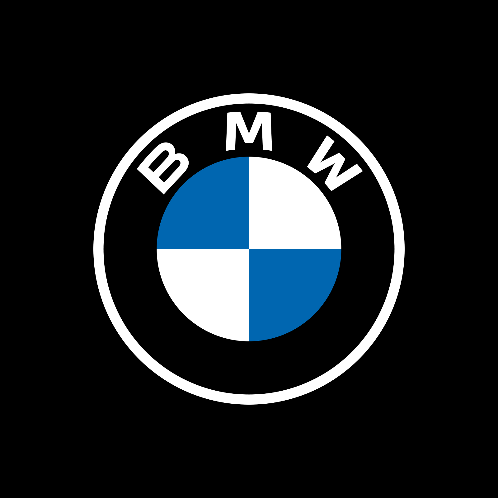 New Logo for BMW