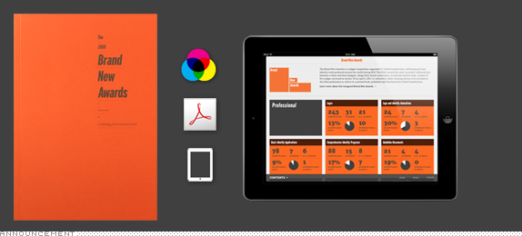 Brand New Awards, Book and iPad Now Available