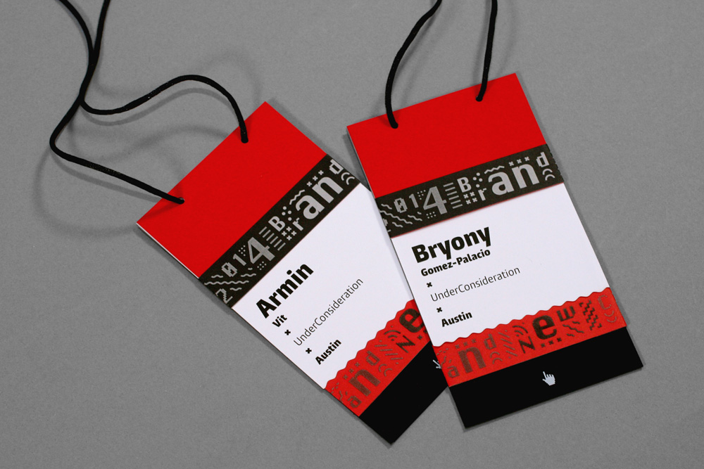name badges design