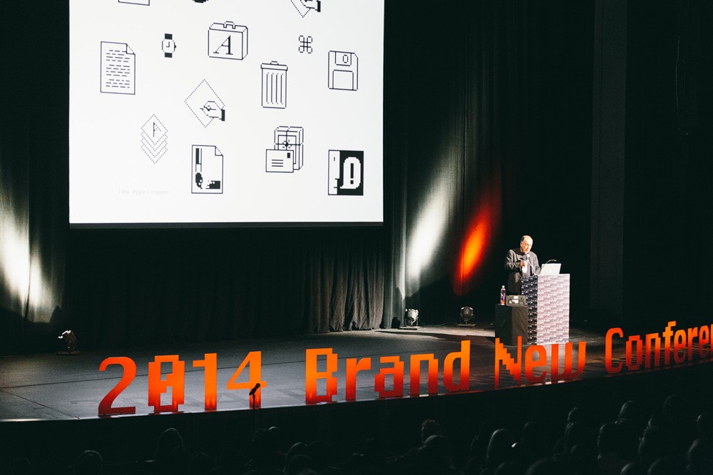 New Logo and Identity for 2014 Brand New Conference by UnderConsideration