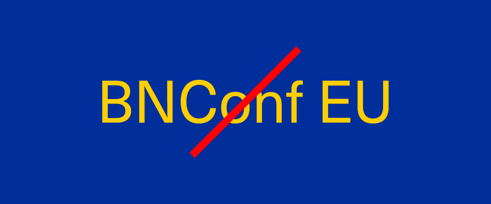 Brand New Conference Europe Update