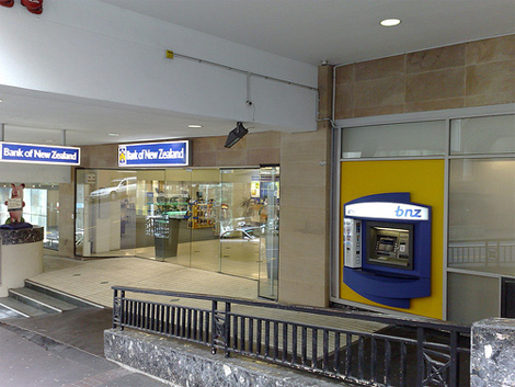 Bank of New Zealand Retail Location
