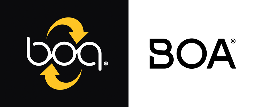 New Logo and Identity for The Boa System by Cinco Design