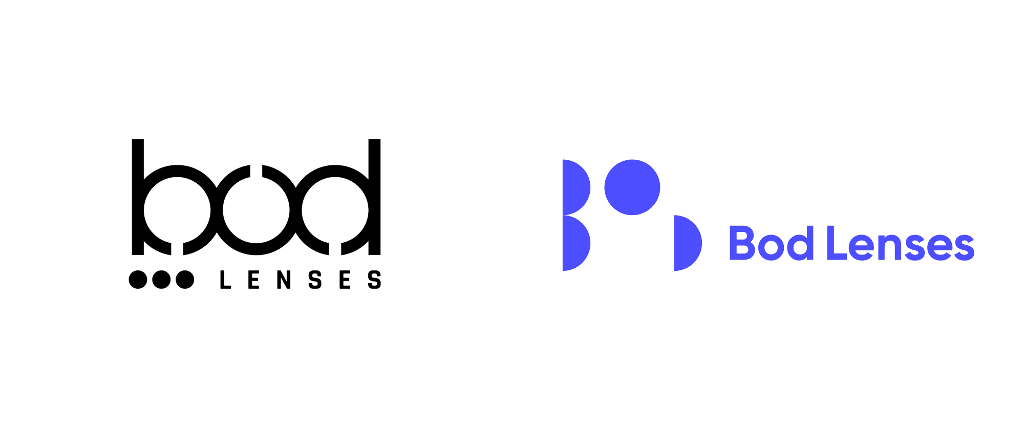 New Logo and Identity for Bod Lenses by Imagine Studio