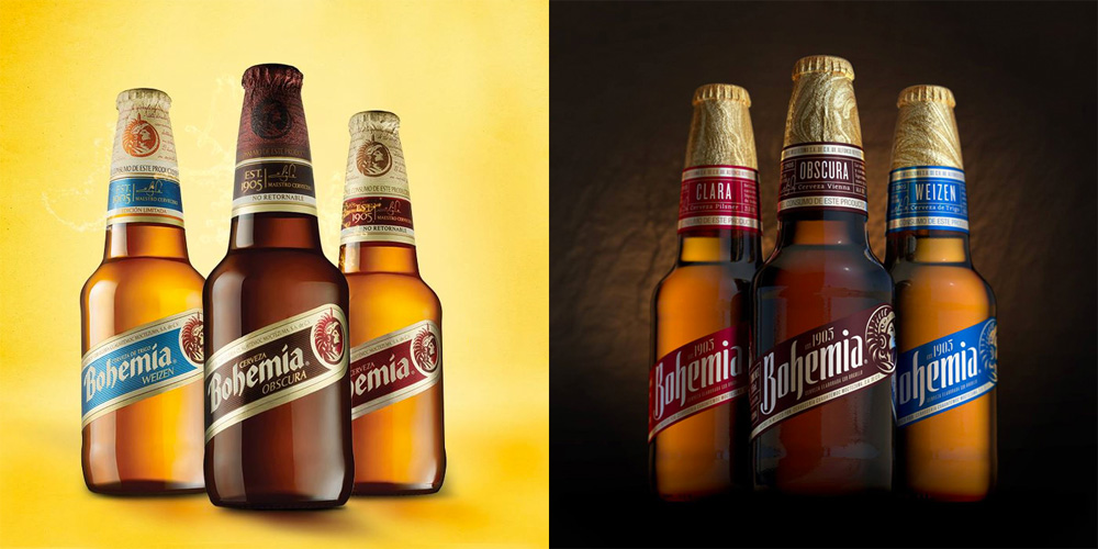 New Logo and Packaging for Bohemia by Elmwood