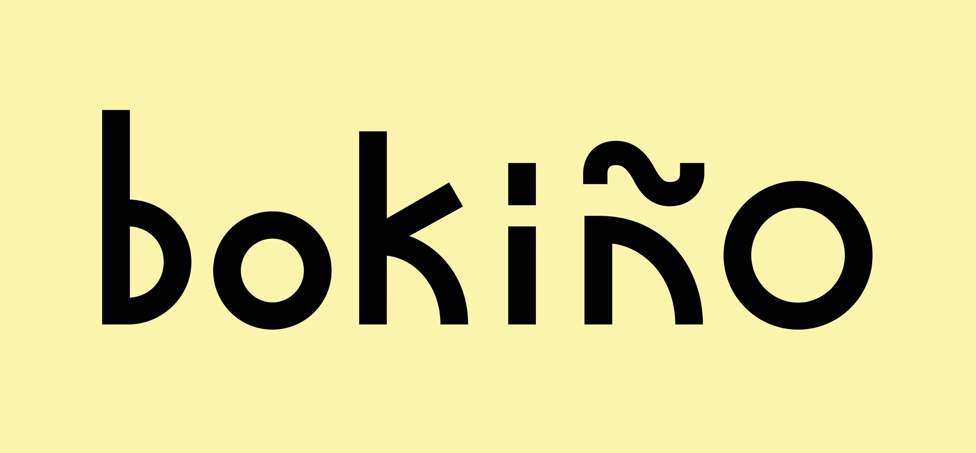 New Logo and Identity for Bokiño by Bedow