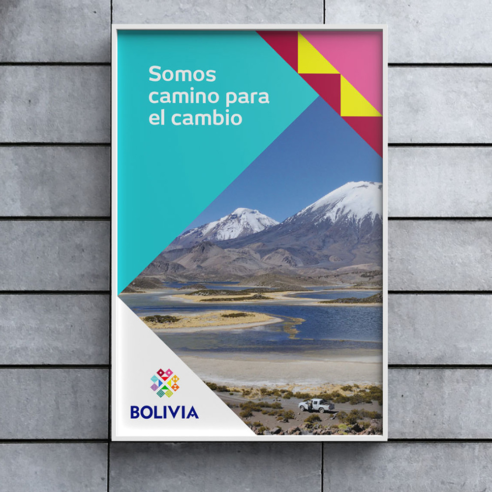 New Logo and Identity for Bolivia by Futurebrand