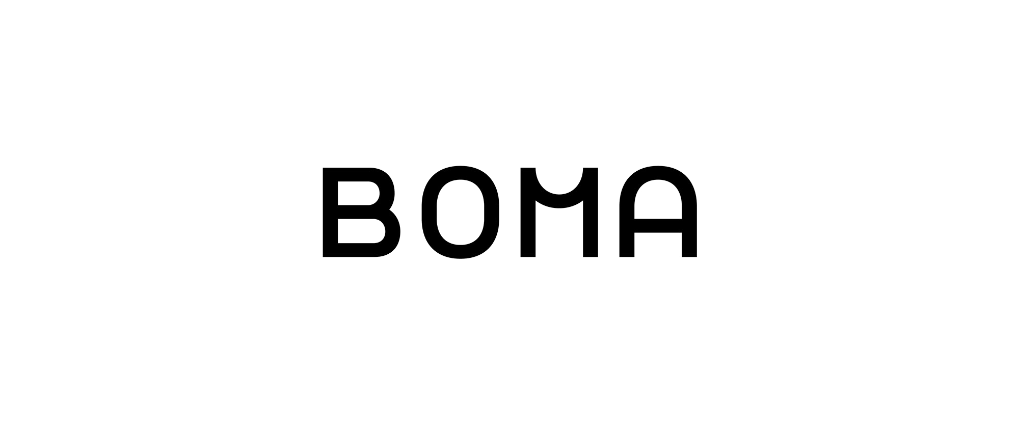New Logo and Identity for BOMA by Papanapa