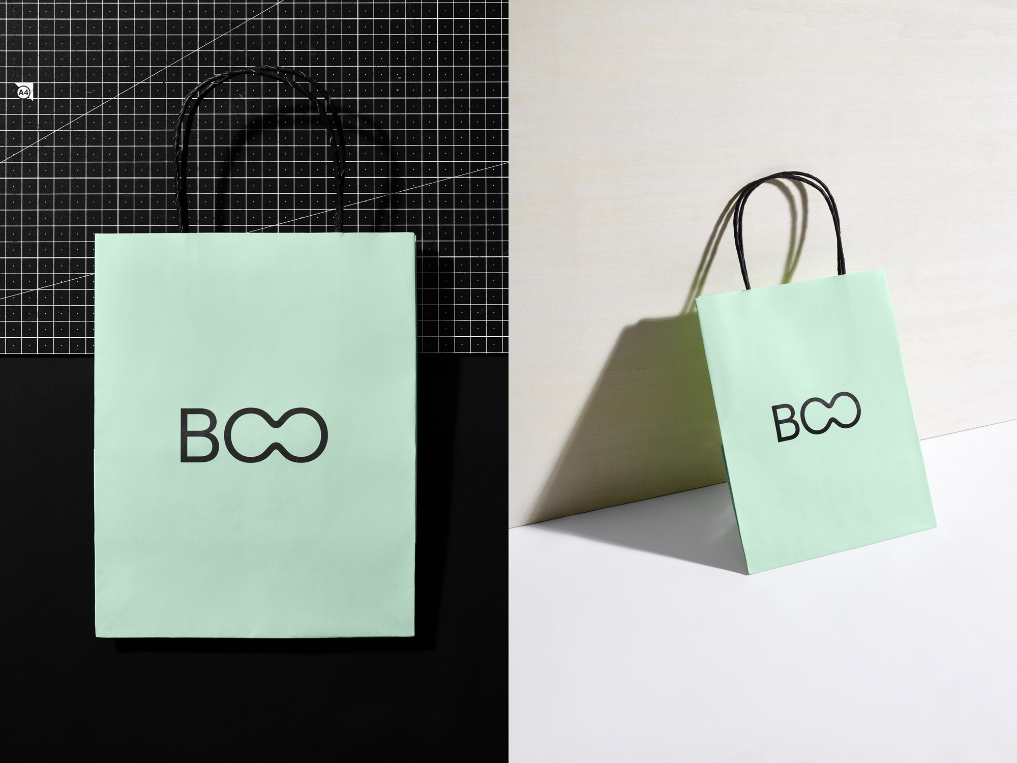 New Logo and Identity for BOO by Rice