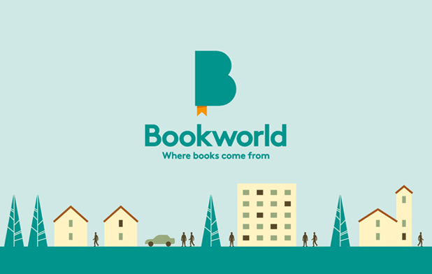Bookworld Logo and Identity