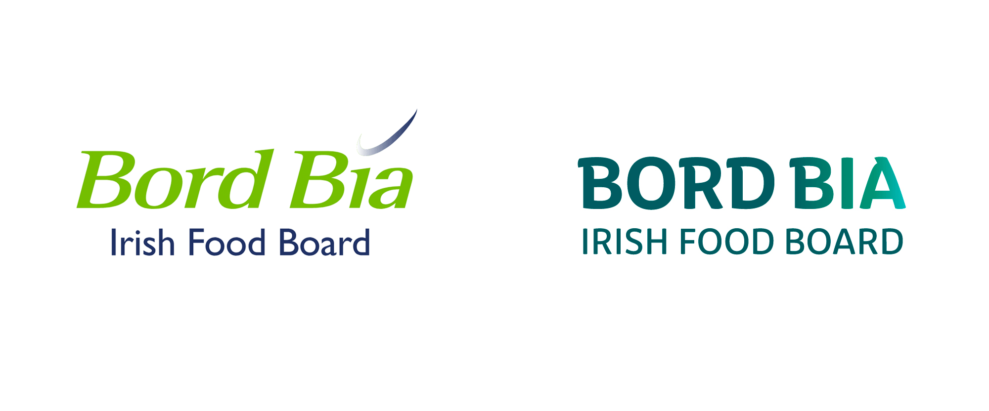 New Logo and Identity for Bord Bia by DesignWorks