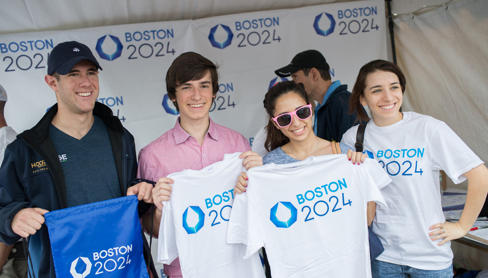 New Logo for Boston 2024 Olympic City Bid