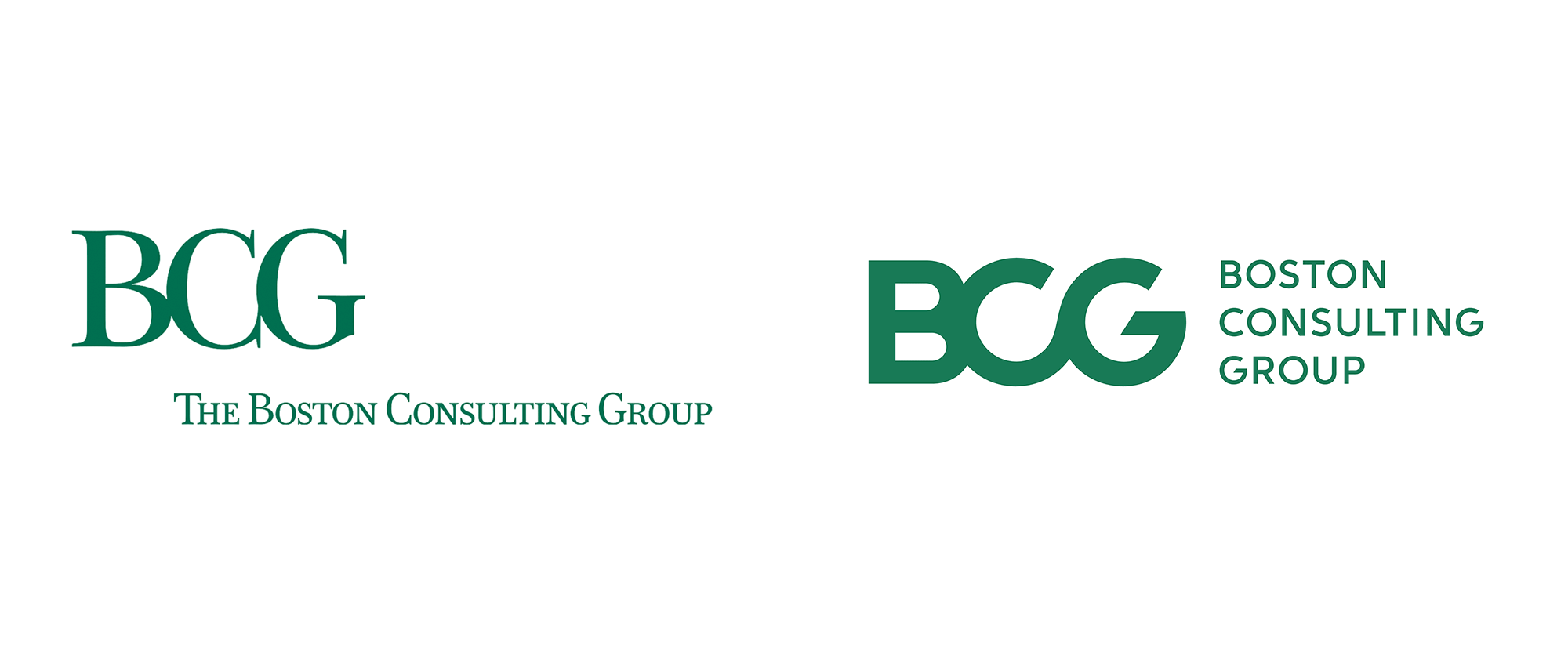 New Logo and Identity for Boston Consulting Group by Carbone Smolan Agency