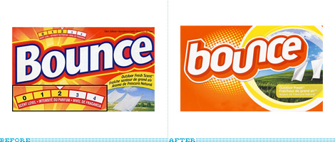 Bounce Packaging, Before and After