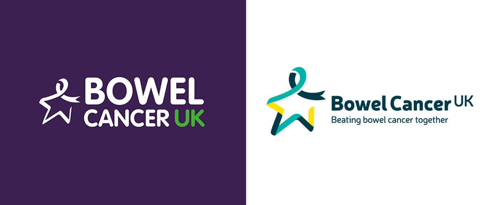 New Logo and Identity for Bowel Cancer UK by The Team