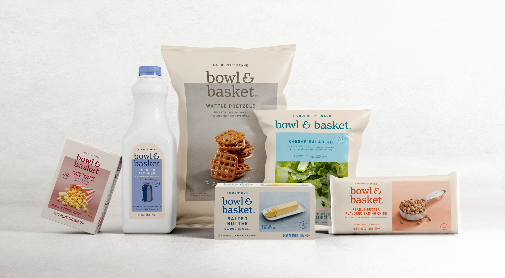 New Logo and Packaging for Bowl & Basket by Pearlfisher
